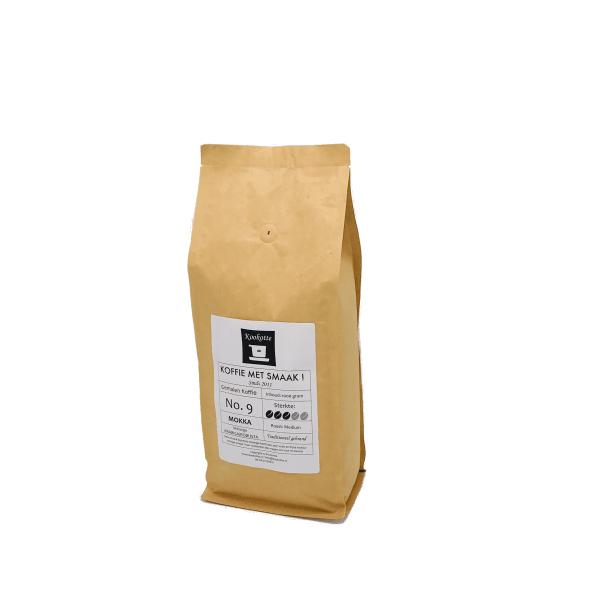 Gemalen koffie No.9