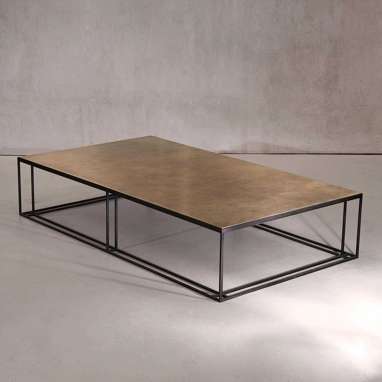 Brass Binate Large Coffee Table Kooku