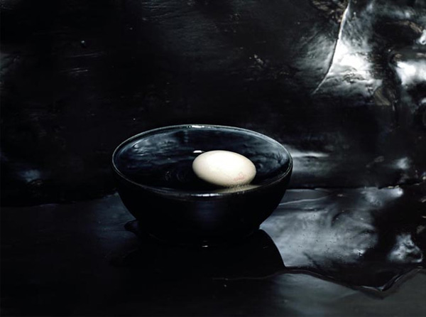 Black bowl, Elspeth Diederix, 2008