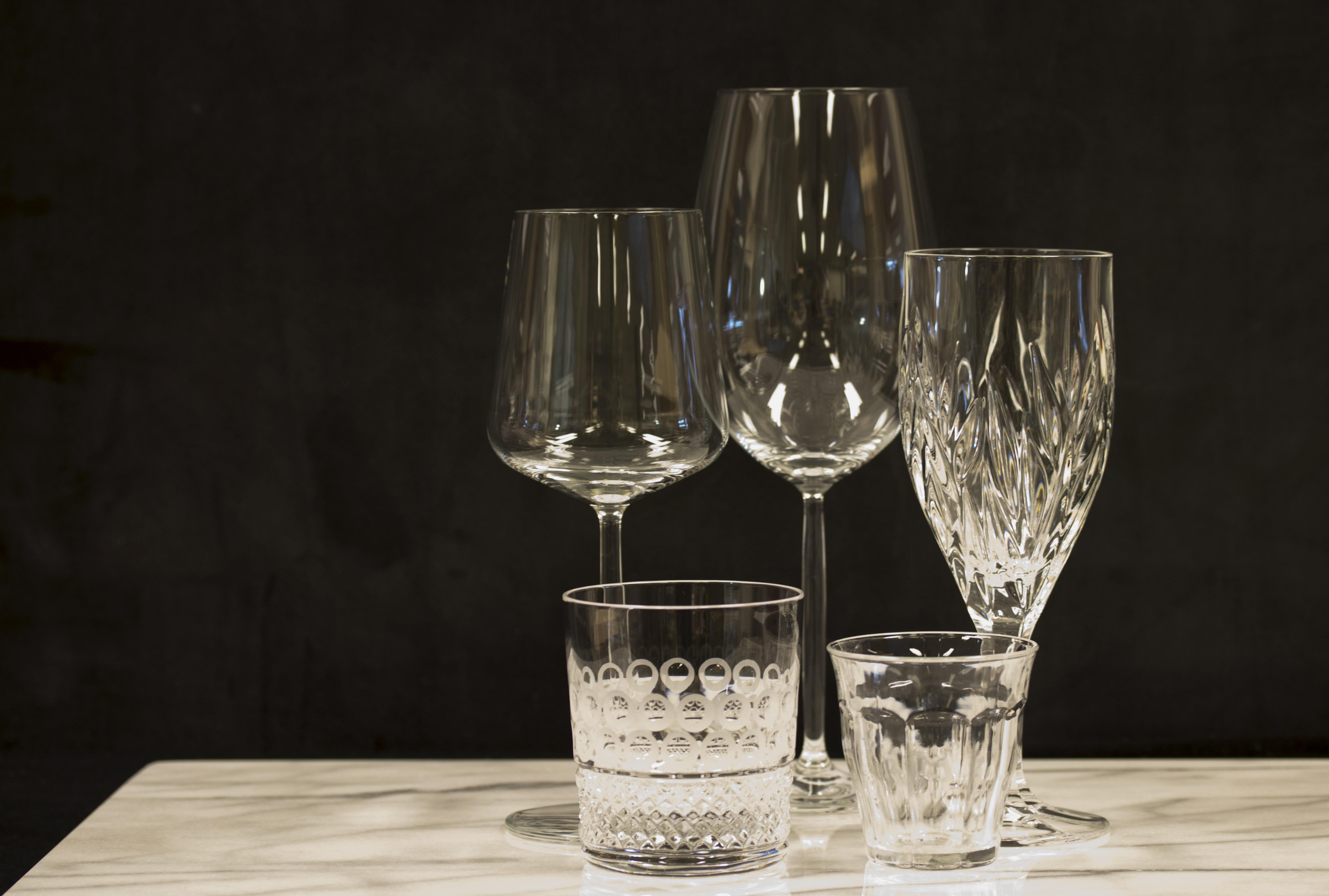Beste Glas, kristal en kristalglas - wat zijn de onderlinge verschillen JO-13