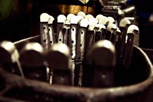 Slijpen van messen hangt van de staalsoort af