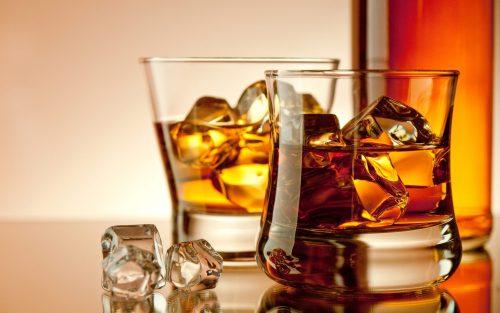 Whisky strip tease