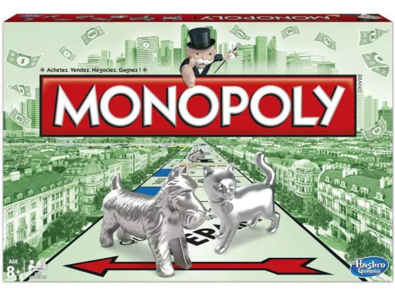 Meilleurs jeux de societe - Monopoly