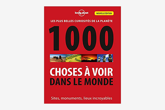 Guide Cadeaux Voyageur - 1000 choses a voir dans le monde