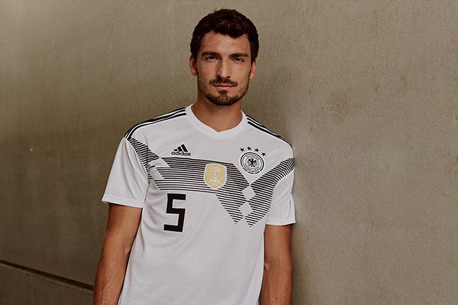 Allemagne - Maillot domicile Coupe du Monde 2018