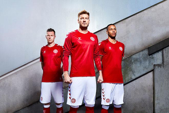 Danemark - Maillot domicile Coupe du Monde 2018