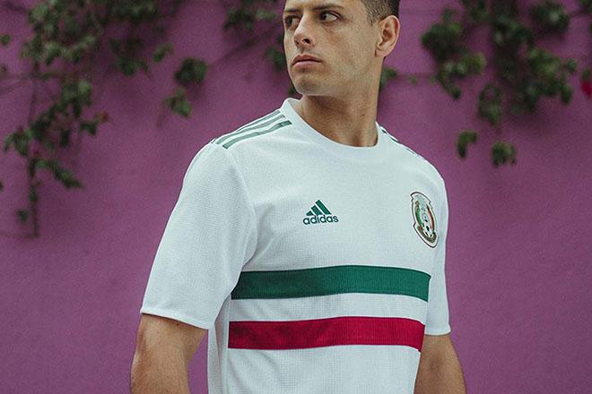 Mexique - Maillot extérieur Coupe du Monde 2018