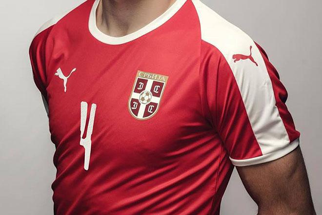 Serbie - Maillot domicile Coupe du Monde 2018
