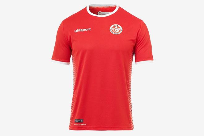 Tunisie - Maillot extérieur Coupe du Monde 2018