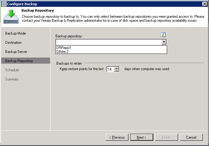 Setting Up Endpoint Backup Access to Backup & Replication 8 Update 2