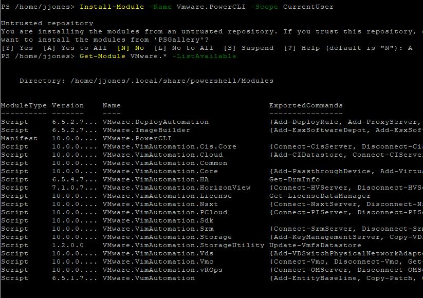 From Zero to PowerCLI: CentOS Edition - koolaid info