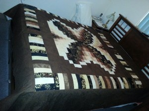 Desley from Surat queen size Bali Butterfly quilt