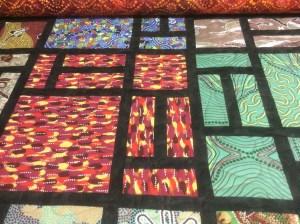 Glenys Gaske aboriginal quilt