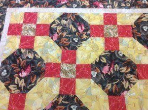 Jan Nowland brown quilt