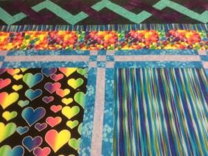 Colleen Derksen blue hearts quilt
