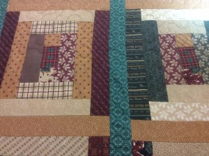 Jilly Anderson brown quilt