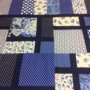 Phyllis Byrne blue quilt