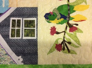 Lyn's applique quilt