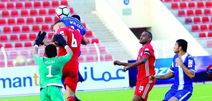 إلى نصف نهائي الكأس.. عمان وظفار وصحم والسويق الأقرب للتأهل نظرياً