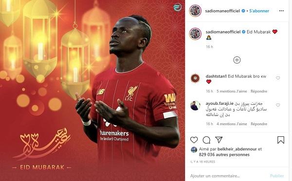 صور: نجوم كرة القدم والأندية حول العالم يهنئون المسلمين بالعيد 27