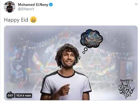 صور: نجوم كرة القدم والأندية حول العالم يهنئون المسلمين بالعيد 33