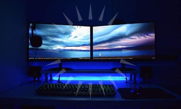 ledli masaüstü bilgisayar
