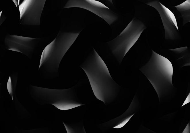 siyah demir örgü tasarım