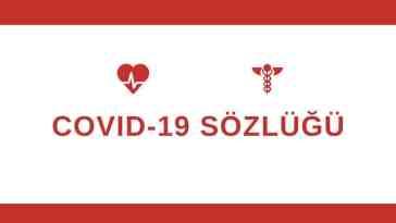 Covid-19 Sözlüğü