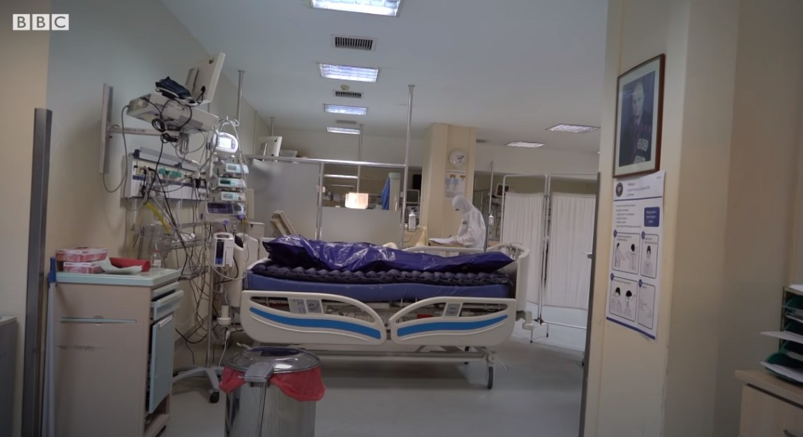 Türkiye'de İlk Kez Korona Hastane Görüntüleri: Cerrahpaşa Korona Yoğun Bakım Ünitesi