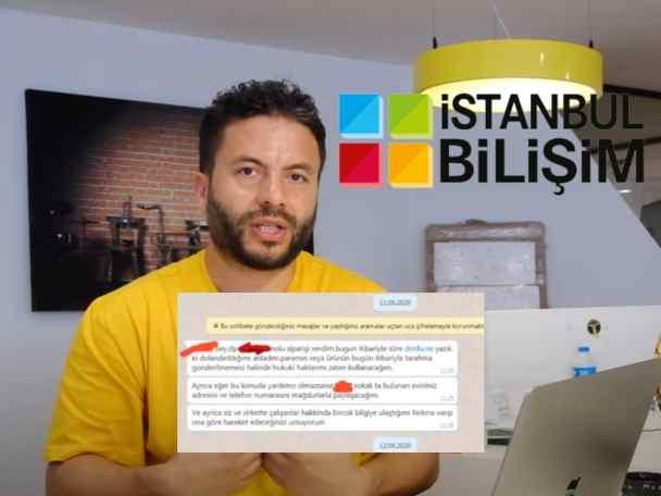 İstanbul Bilişim Ürünü Göndermeyince Emniyet Yetkilisi Yöneticiyi Tehdit Etmiş