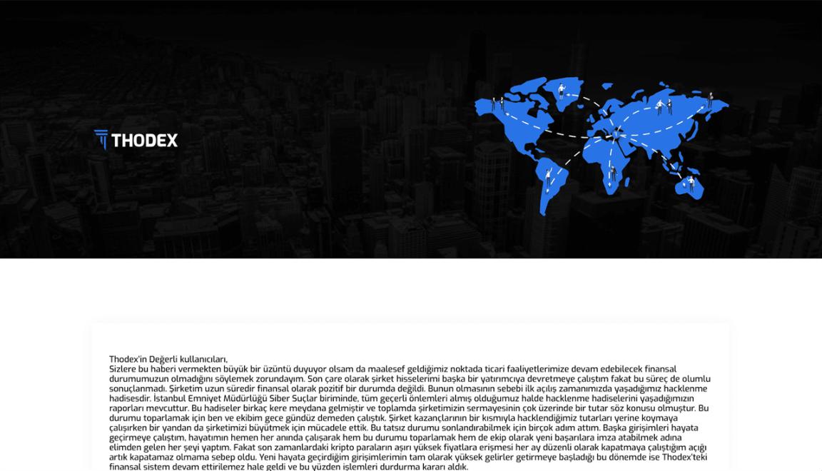 Thodex Kurucusu Faruk Fatih Özer Veda Mektubu Yayınladı İddiası
