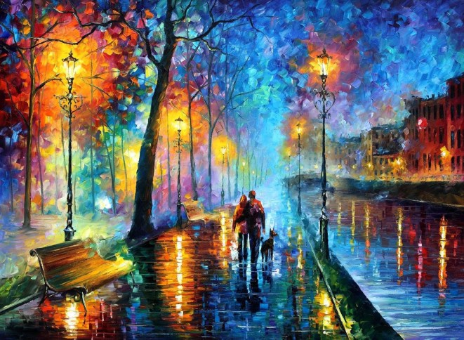 The Melody Of The Night (Gecenin Melodisi)- Leonid Afremov