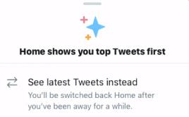 Twitter'dan Yeni Bir ''Tuş'' Duyurusu: Kronolojik ve Algoritmik Zaman Tünelleri Arasında Kolayca Geçiş Yapın