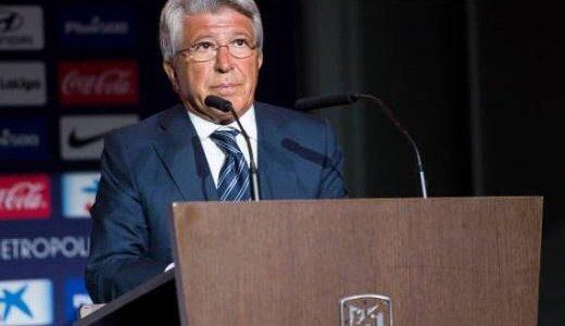 تصريح مثير من رئيس أتليتكو مدريد بعد الفوز على الريال