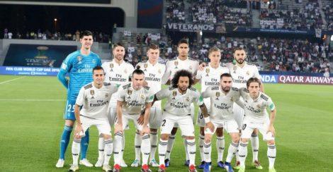 تشكيلة ريال مدريد
