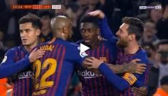أهداف مباراة برشلونة وليفانتي 3-0 كأس ملك اسبانيا