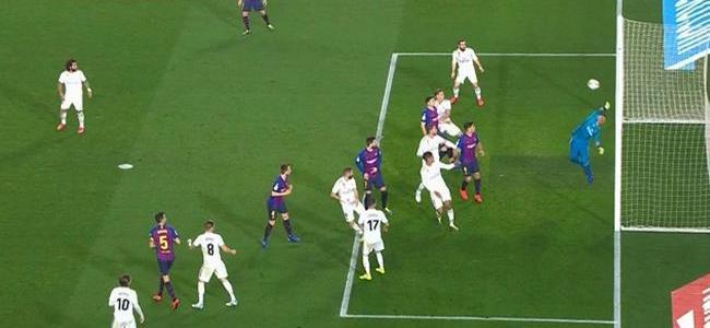 أهداف مباراة برشلونة وريال مدريد 1-1 كأس ملك اسبانيا