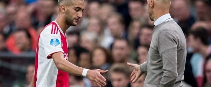 مدرب أجاكس يرفض إلتحاق زياش بالمنتخب المغربي