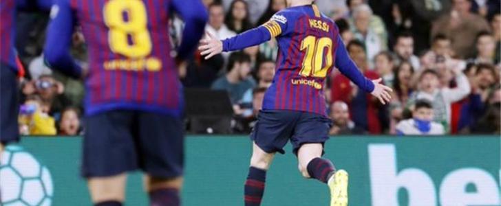 برشلونة ضد اسبانيول.. ميسي يقود هجوم البارسا بالديربي