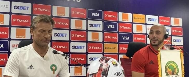 أمرابط يتحدث عن طبيعة إصابته وإمكانية مشاركته في مباراة المغرب وجنوب افريقيا