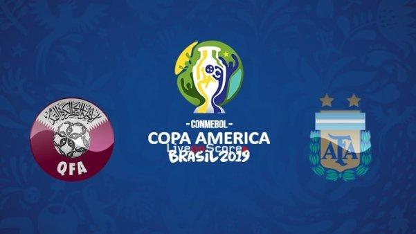 مشاهدة مباراة الارجنتين وقطر بث مباشر 23-06-2019 كوبا امريكا