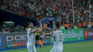 محرز يقود المنتخب الجزائري للفوز على نيجيريا والتأهل نهائي كأس امم افريقيا