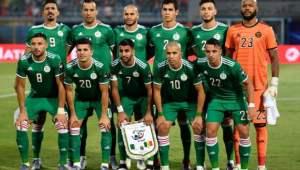 التشكيلة الرسمية للمنتخب الجزائري لمواجهة نيجيريا