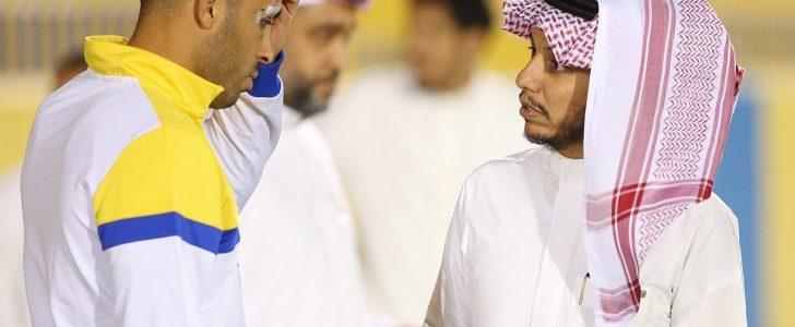 إصابة حمدالله تثير القلق في مران النصر قبل مباراة دوري أبطال أسيا