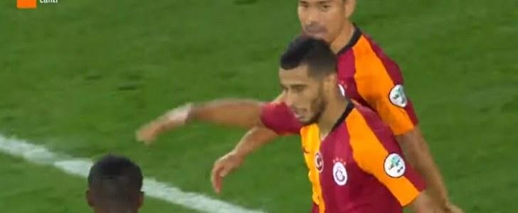 هدف يونس بلهندة الرائع لصالح غلطة سراي في كأس السوبر التركي
