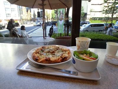 ピザランチ(スワンカフェ&ベーカリー赤坂店)