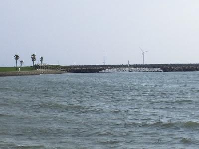 海底ケーブルで東電変電所に送電(屏風ヶ浦)