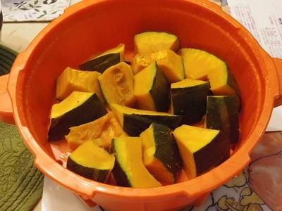 かぼちゃの素焼き