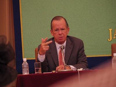 マイケル・マレン米第17代統合参謀本部議長(海軍大将)