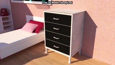 Free 3d drawer model